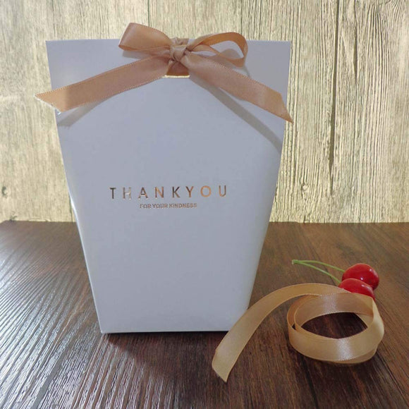 9 PCS Thank You Gift Wrap Boxes Packing Bags