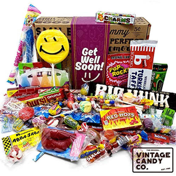 GET WELL SOON FEEL BETTER CARE PACKAGE