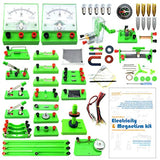 EUDAX School Physics Labs Basic Electricity Discovery Circuit and Magnetism Experiment kits