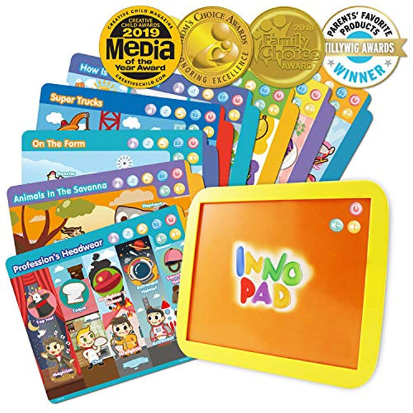 BEST LEARNING INNO PAD Smart Fun Lessons - Educational Tablet Toy