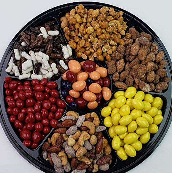 Deluxe Nutty Snacks Gift Tray - Perfect for Birthdays, Parties, Sympathy Events
