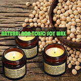 Scented Candles Soy Candle - Rustic Scented Candle