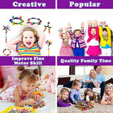 ERLY Pop Beads, Girls Toys for 4, 5, 6, 7 Year Old Gifts, Arts and Crafts for Kids Ages 4-8