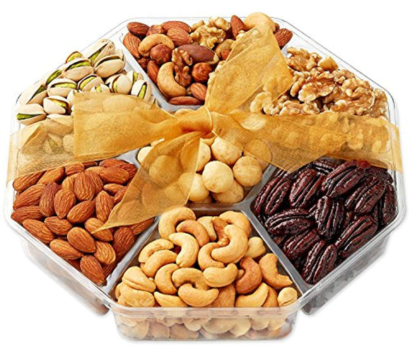 Holiday Nuts Gift Basket - Gourmet Food Gifts