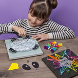 Craft-tastic – String Art Kit – Craft Kit Makes 2 Large String Art Canvases