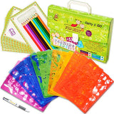 Drawing Stencils Set for Kids (54-Piece) - Perfect Creativity Kit & Travel Activity