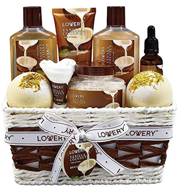 Bath and Body Gift Basket For Women and Men