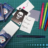 Blue Panda Blank DIY Playing Cards (4 Decks)