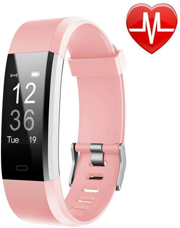 LETSCOM Fitness Tracker HR, Activity Tracker Watch with Heart Rate Monitor
