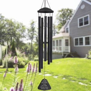 Astarin Wind Chimes Outdoor Large deep Tone, 38 Inch Memorial Wind Chimes with 8 Tuned Tubes