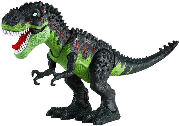 Tuko Jurassic World Dinosaur Toys LED Light Up Walking and Roaring Realistic