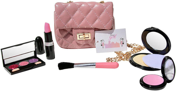 GigiGirl Pretend Play Makeup Set with Designer Style Purse