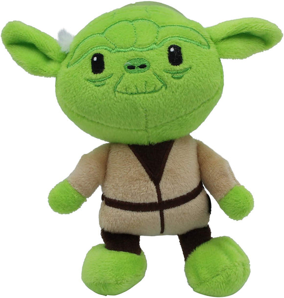 Star Wars Plush Yoda Figure Dog Toy | Soft Star Wars Squeaky Dog Toy