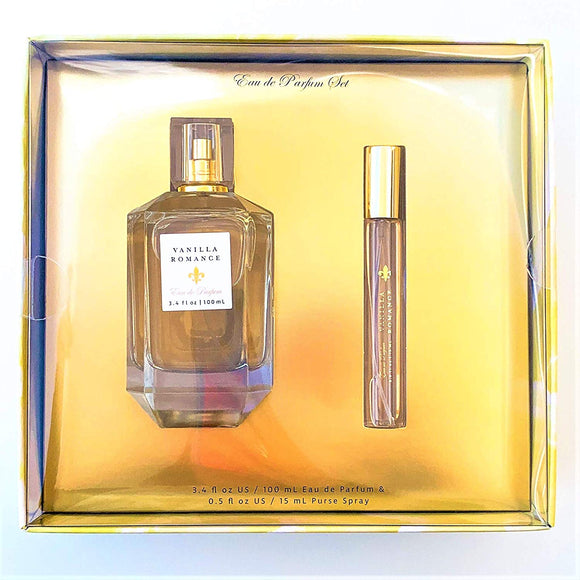 Tahitian Vanilla Eau De Parfum Gift Set by Tru Fragrance and Beauty