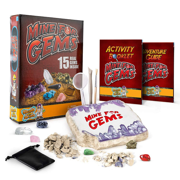 Discover with Dr. Cool Mine for Gems Dig Kit