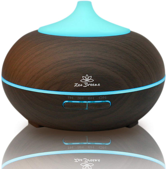 Essential Oil Diffuser Dark Wood - Aromatherapy Diffuser - Birthday Gift Edition