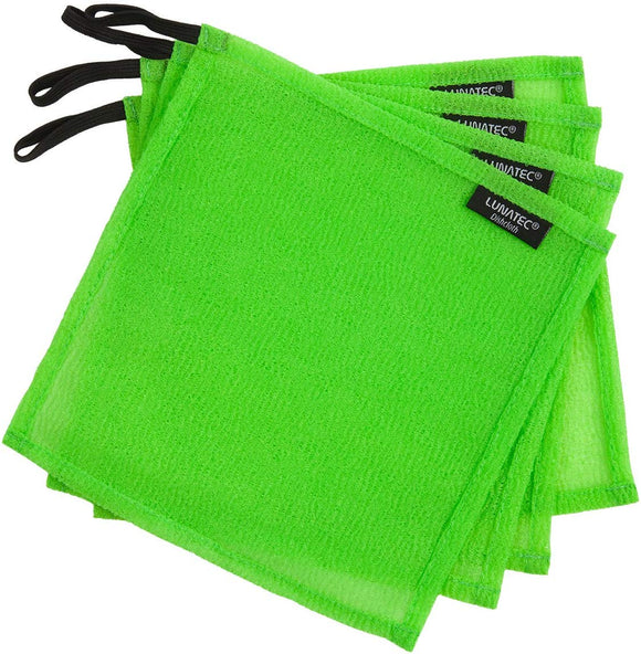 Lunatec Odor-Free Dishcloths. The perfect scrubber, dish cloth, sponge and scouring pad to clean your dishes, pots & pans, and kitchen gear