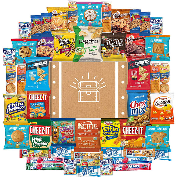 Cookies, Chips & Candies Ultimate Snacks Care Package