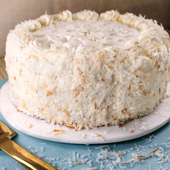 David's Cookies Tropical Paradise Coconut Cake, 10""