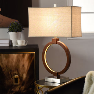 Norwich Table Lamp with LED Nightlight