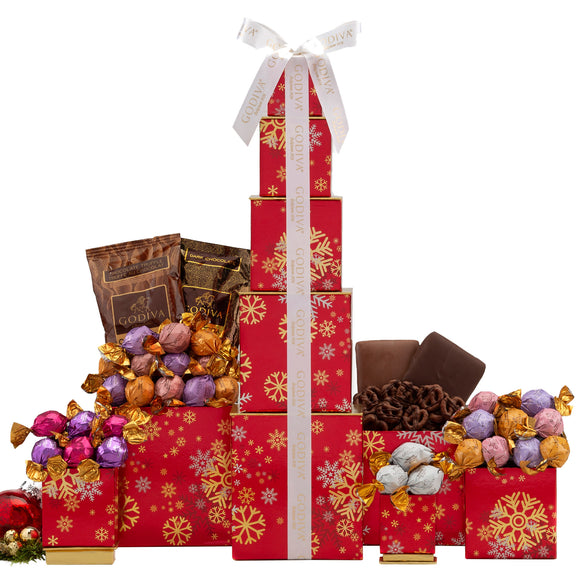 Godiva Holiday Snowflake Tower