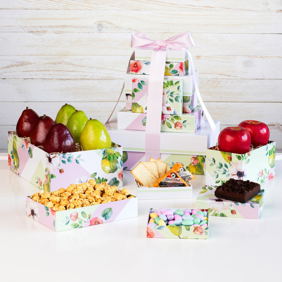 The Fruit Company Springtime 6 box Tower