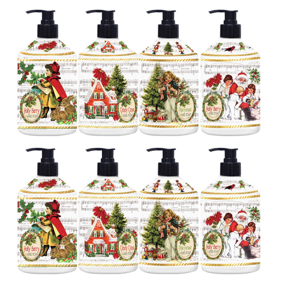 Home & Body Holiday Greetings Hand Soap, 8-pack