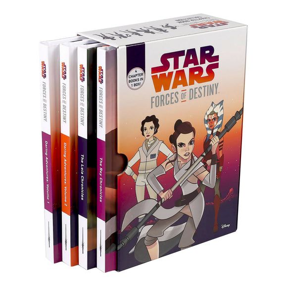 Star Wars Forces of Destiny: 4 Book Box Set