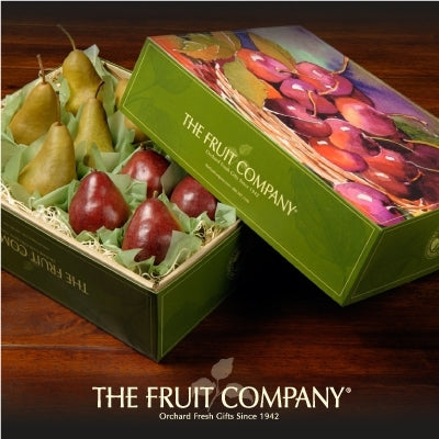 The Fruit Company Delectable Pear Duo Gift Box