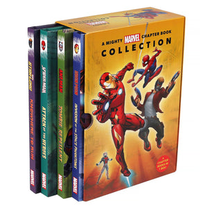 A Mighty Marvel Chapter Book Collection: 4 Book Box Set
