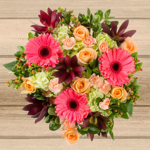 Pink Daisy Floral Bouquet