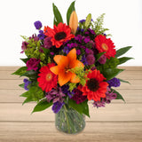 Sunset Bliss Floral Arrangement