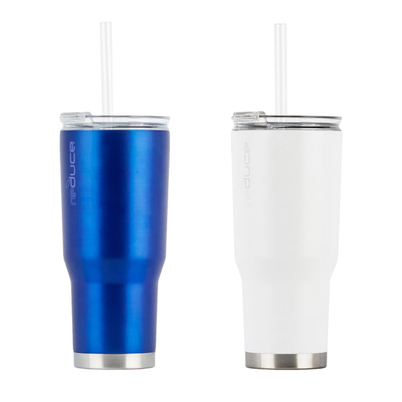 Reduce Cold1 24oz Tumbler with Straw, 2-pack