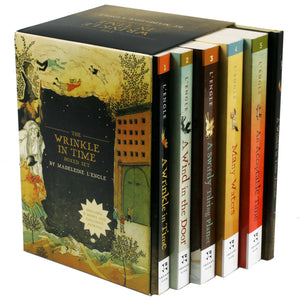 The Wrinkle In Time: 5 Book Boxed Set & Journal by Madeleine L'Engle