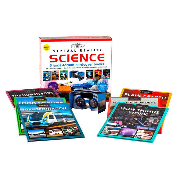 Encyclopedia Britannica Virtual Reality Science: 6 Book Box Set