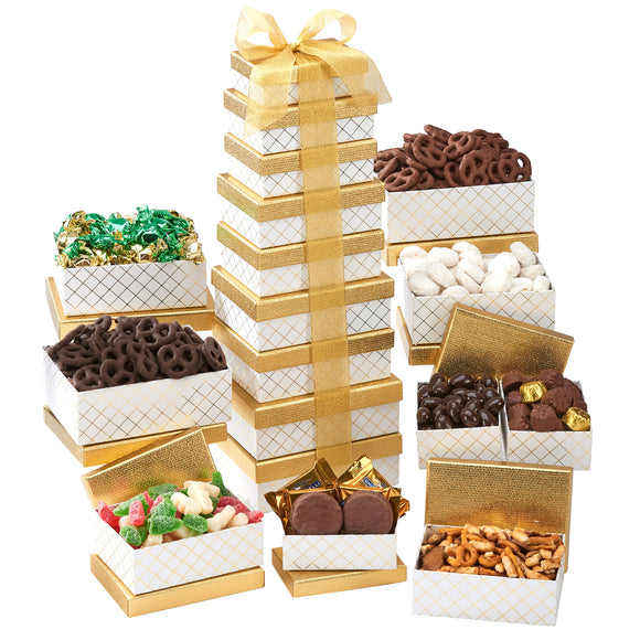 Shimmering Treats 9-Tier Tower
