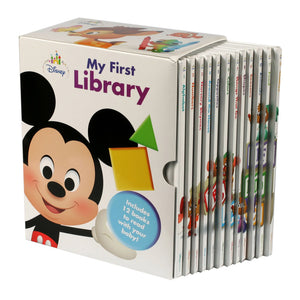 Disney My First Library: 12 Book Box Set