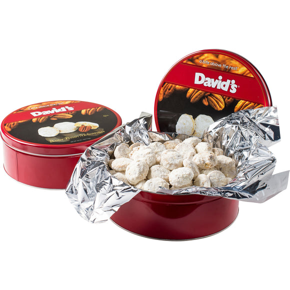David's Cookies Butter Pecan Meltaways 32oz, 2-pack