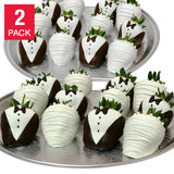 Belgian Chocolate Covered Wedding Strawberries 48-Piece