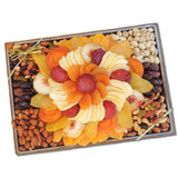 Vacaville Fruit Company 60 oz  Dried Fruit & Nut Wooden Gift Tray