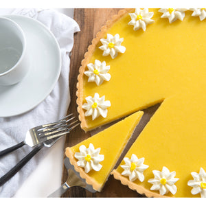 David's Cookies Lemon Flower Tart, 2-pack