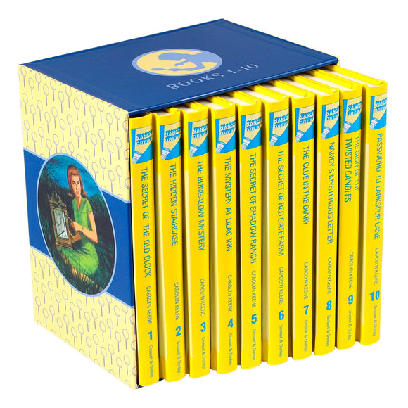 Nancy Drew Mystery Stories Collection: 1-10 Book Box Set by Carolyn Keene