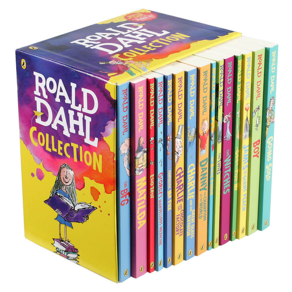 New Roald Dahl Collection: 16 Book Box Set