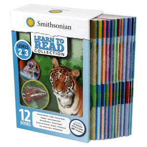 Smithsonian Learn to Read Collection Levels 2-3: 12 Book Box Set