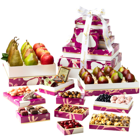 The Fruit Company 10 Box Holiday Tower
