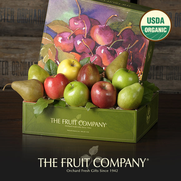 The Fruit Company USDA Organic Fruit Gift Box