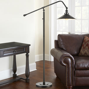 Christie Metal Arc Floor Lamp