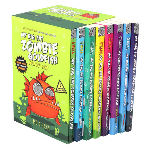 My Big Fat Zombie Goldfish: 8 Book Box Set by Mo O'Hara