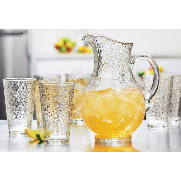 Libbey Glass Pitcher and Tumblers, 7-piece set
