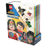 LEGO Super Heroes Collection: 10 Book Box Set with Figurine